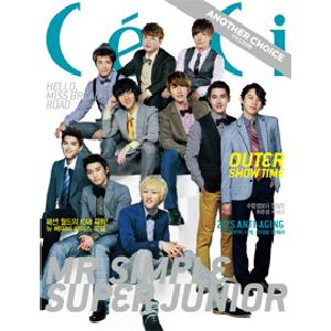 [Magazine] CECI 2011.09 (Super Junior)
