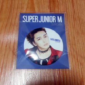 [SM Official Goods] Super Junior M : Button (Sung Min)