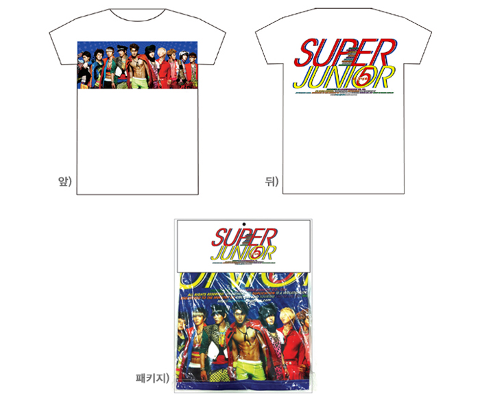 [ K-POP ] Super Junior : Mr.Simple T-Shirt (Type B_M size)