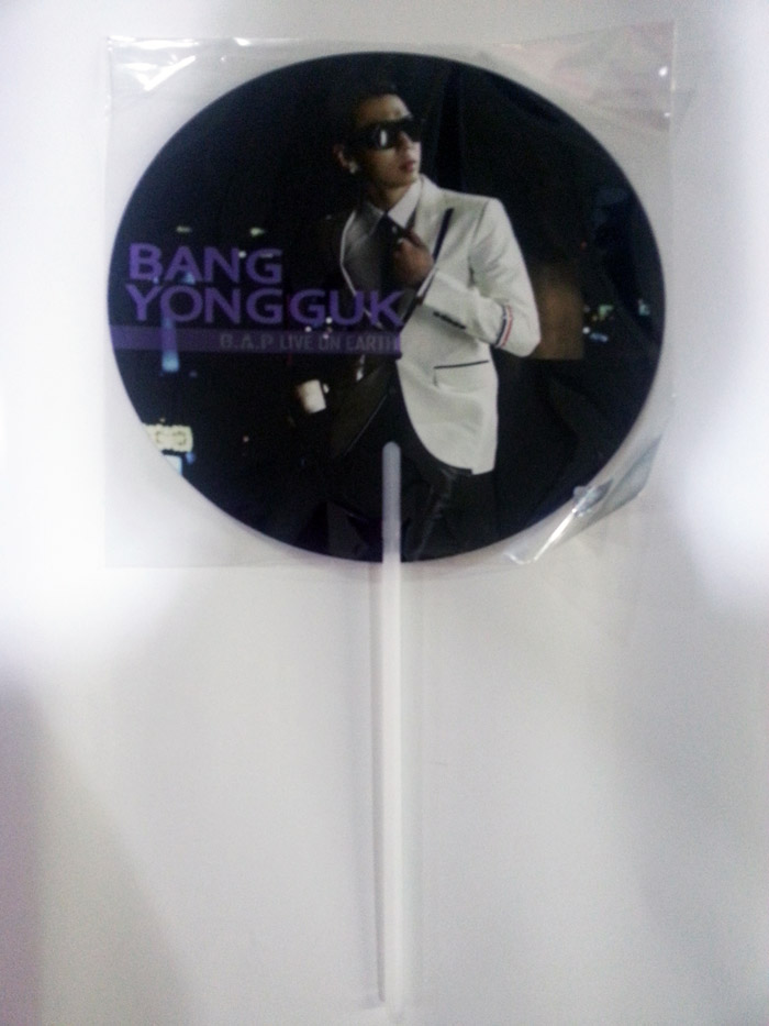 [ K-POP ] (B.A.P Concert Goods) Image Picket Purple (Yongguk)