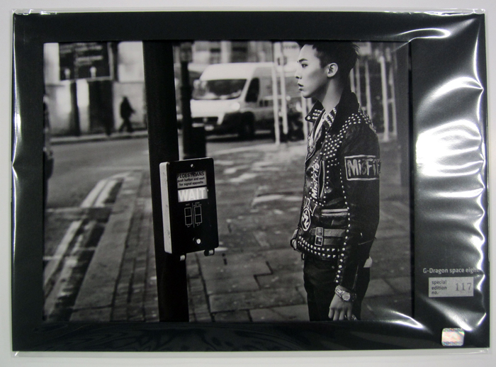 [ K-POP ] [YG Official MD] G-Dragon : Photo -  Space Eight Exhibition - Special Edition no. 57