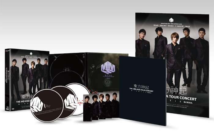[ K-POP ] [DVD] Dong Bang Shin Ki - 3RD ASIA TOUR CONCERT [MIROTIC] [3disc + 68p Photobbok]