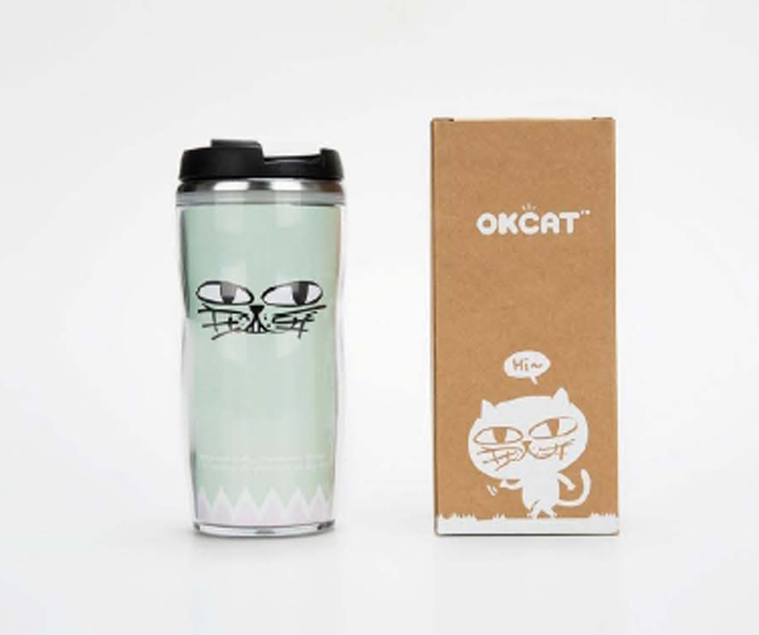 [ K-POP ] OKCAT 2nd Line - Tumbler (A Type) (2PM:Taec Yeon)