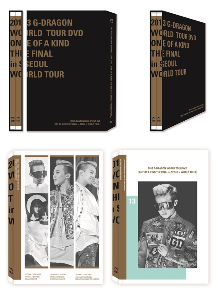 [ K-POP ] [DVD] 2013 G-DRAGON WORLD TOUR DVD [ONE OF A KIND THE FINAL in SEOUL+ WORLD TOUR] (+Postcard3p)