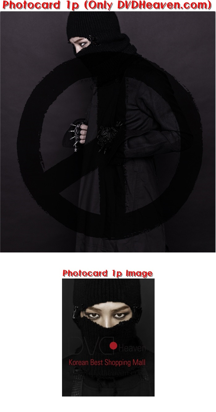 [ K-POP ] [Limited Quantity]G-Dragon - Vol.2 [COUP D`E TAT] (Black Ver) [+Booklet+SPACE8 Ticket]+Photocard(1p)