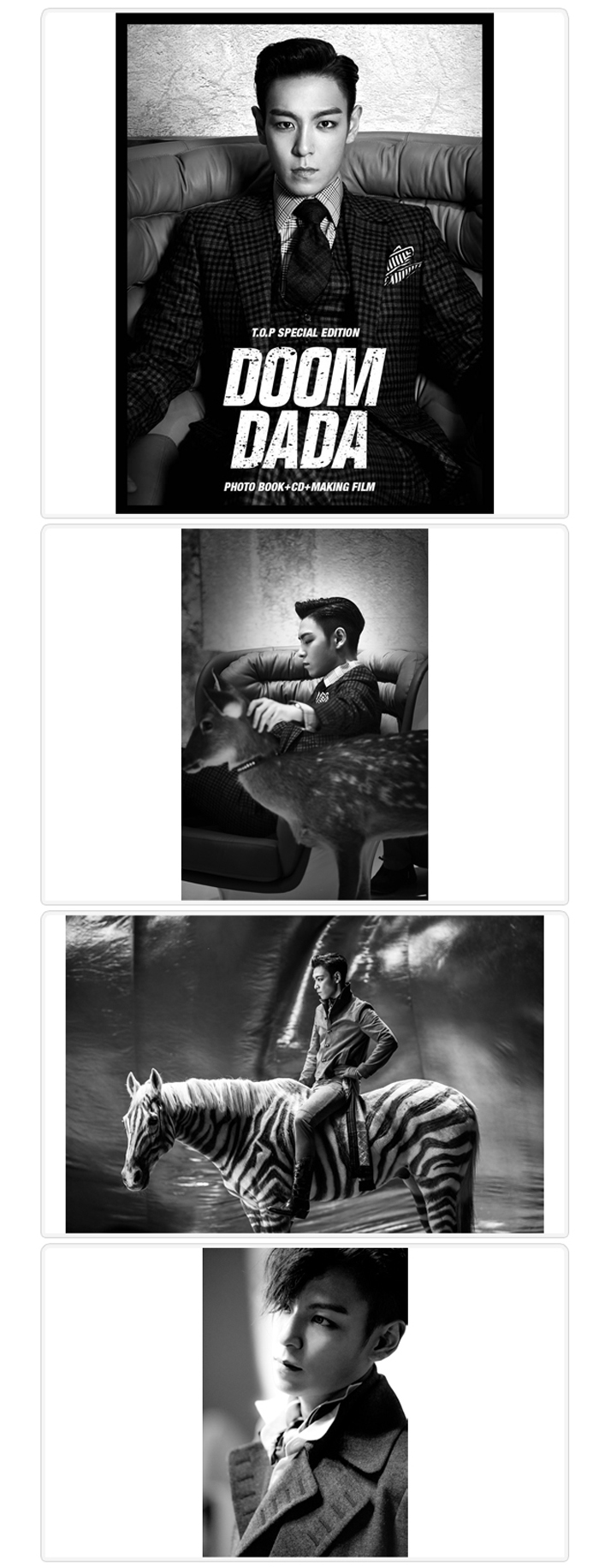 [ K-POP ] Big Bang : T.O.P - Special Edition (DOOM DADA) (+Photobook )