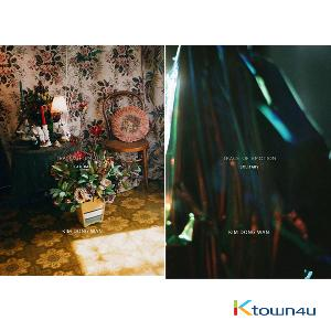 [SET][2CD + 2POSTER SET] SHINHWA : KIM DONG WAN - Mini Album [TRACE OF EMOTION] (SOLITARY VER. + GLOOMY VER.)