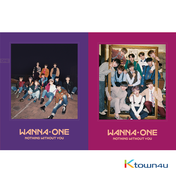 WANNA ONE - To Be One Prequel Repackage Album [1-1=0(NOTHING WITHOUT YOU)]