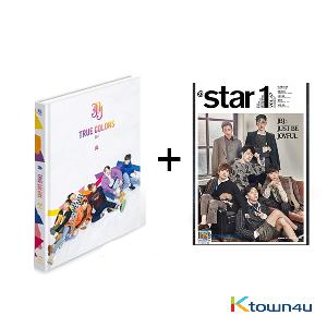 [SET] At star1 2017.10 (Cover : JBJ) + JBJ - Mini Album Vol.2 [True Colors] (Volume II- I Ver.)