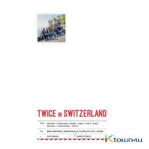 [Photobook] TWICE - TWICE TV5 TWICE in SWITZERLAND PHOTOBOOK