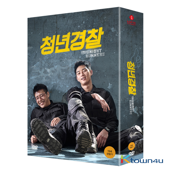 [DVD] Midnight Runners (Park Seo Jun, Kang Ha Neul)