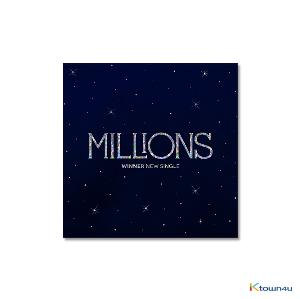 WINNER - New Single Album [MILLIONS] (WHITE LIGHT Ver.) (Only Ktown4u's Special Gift : Big Postcard 115*170mm 1p ~until sold out)