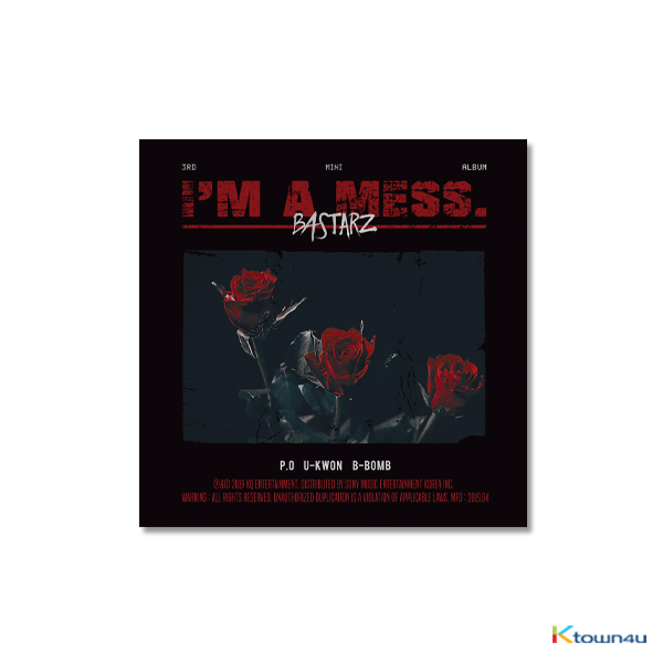 Block B BASTARZ - Mini Album Vol.3 [I'm a mess.]