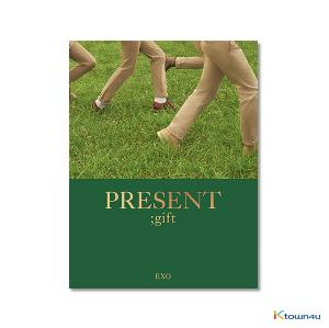 [PHOTOBOOK] EXO - [PRESENT ; gift] Photobook  *Ktown4u Preorder benefit : Big Postcard 115*170mm