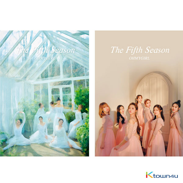 [SET][2CD SET] OH MY GIRL - Album Vol.1 [THE FIFTH SEASON] (DRAWING Ver. + PHOTOGRAPHY COVER Ver.)