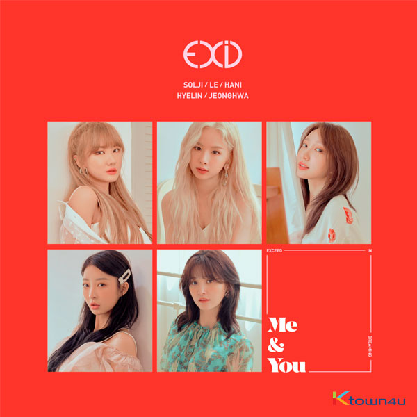 EXID - Mini Album Vol.5 [WE]