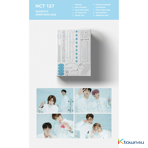 NCT 127 - 2020 SEASON'S GREETINGS (Only Ktown4u's Special Gift : All Member Photocard set)