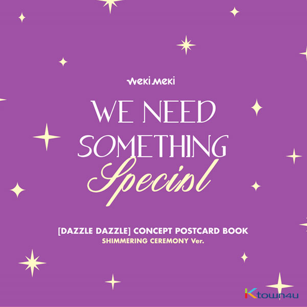 Weki Meki - DIGITAL SINGLE 'DAZZLE DAZZLE' OFFICIAL MD [CONCEPT POSTCARD BOOK] (SHIMMERING CEREMONY Ver.)
