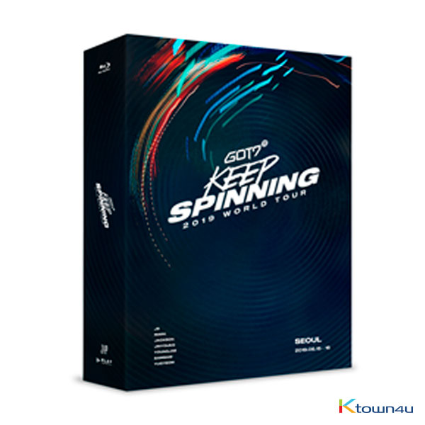 [AHGASE PROJECT][Blu-Ray] GOT7 - GOT7 2019 WORLD TOUR 'KEEP SPINNING' IN SEOUL BLU-RAY