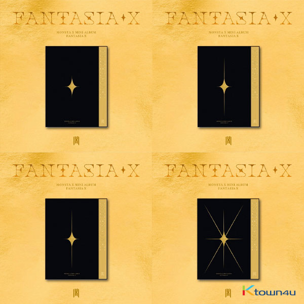 [SET][4CD SET] MONSTA X - Mini Album [FANTASIA X] (Ver.1 + Ver.2 + Ver.3 + Ver.4)