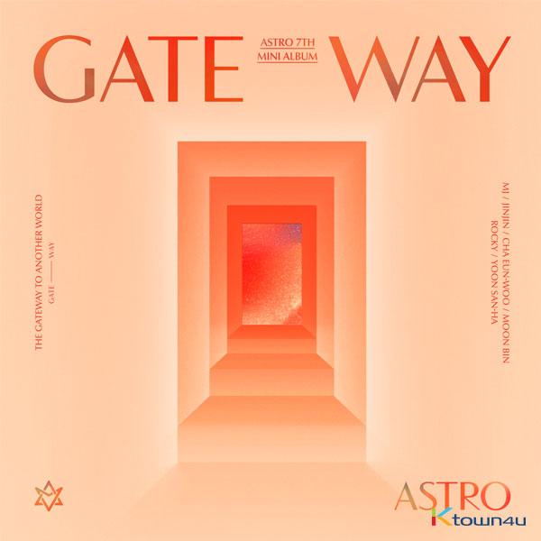 [@moonlightGO0126] ASTRO - Mini Album Vol.7 [GATEWAY]