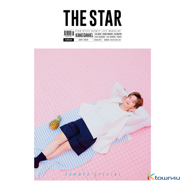 THE STAR 2020.06 B Type (Kang Daniel)