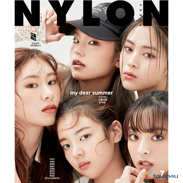 [THHaneul_events] NYLON 2020.07 (Front Cover : ITZY / Back Cover : HA SUNG WOON)
