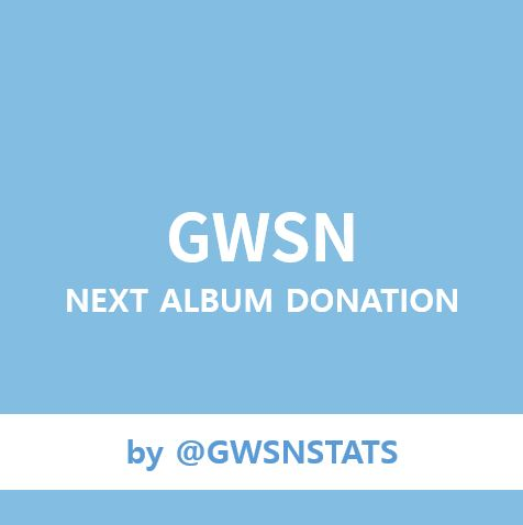 [Donation] GWSN FANCLUB SUPPORT EVENT by @GWSNSTATS