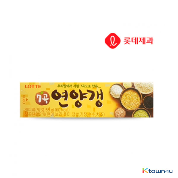 [LOTTE] Grains Red Bean Paste Jelly 55g