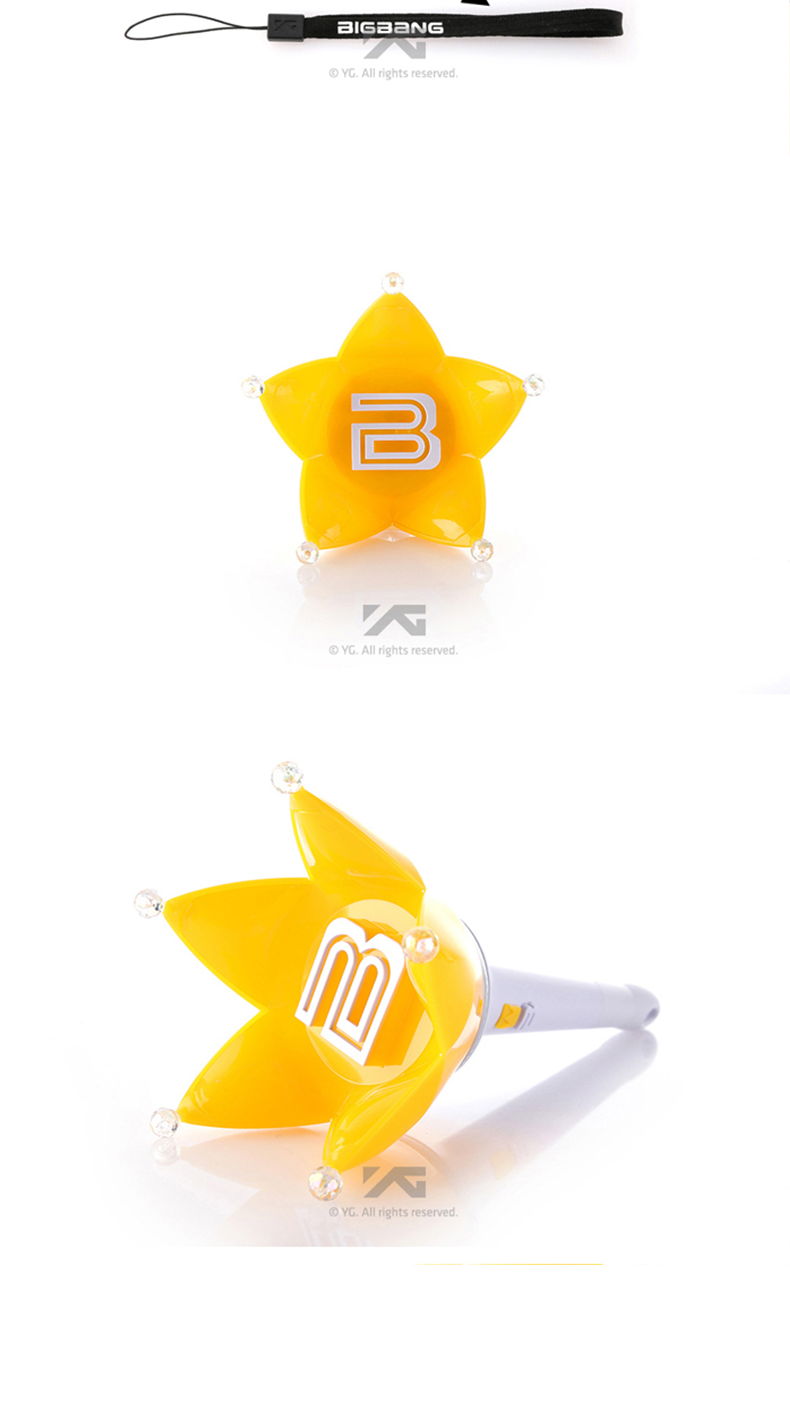 Big Bang - Fan Light stick (Ver.4) (White) [YG Official MD]