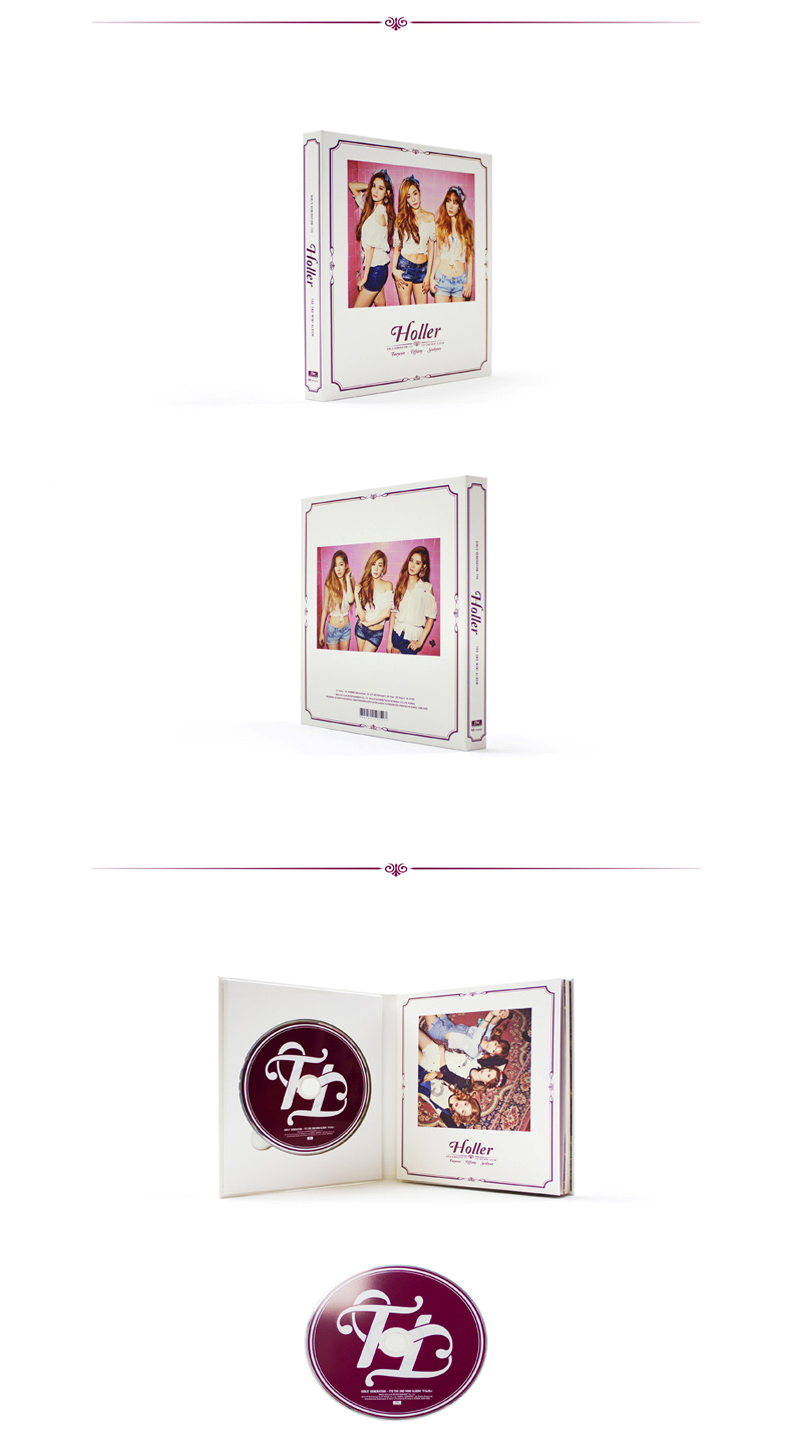 Girls` Generation: TaeTiSeo (TTS) - Mini Album Vol.2  [Holler]