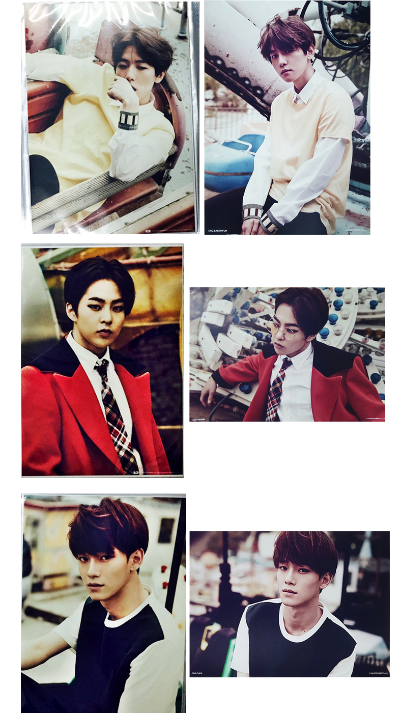 [SUM] EXO - LOVE ME RIGHT_A4_High Printing