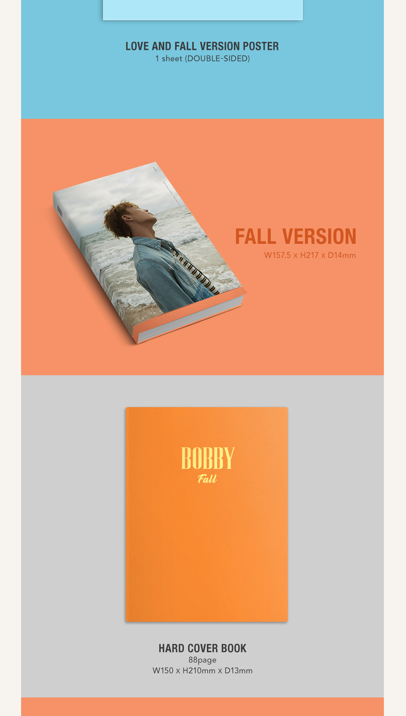 iKON : BOBBY - SOLO ALBUM VOL.1 [LOVE AND FALL] (LOVE VER.)